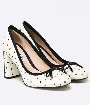 Pantofi Cu Toc Gros Clarks Eleganti