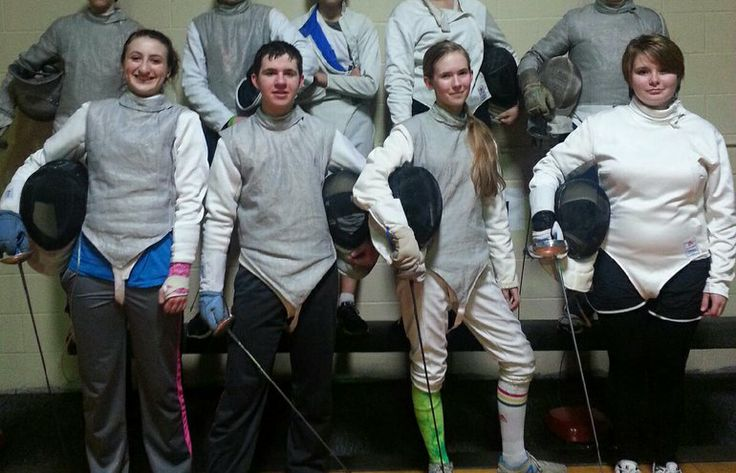 Northpointe Fencing sends 12 to Junior Olympics event
