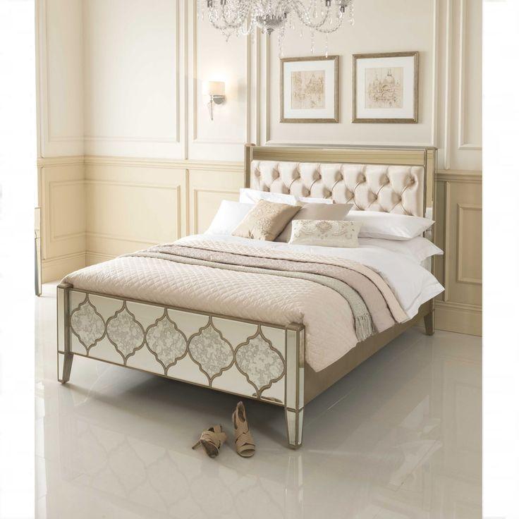 Kingsize Sassari Mirrored Bed