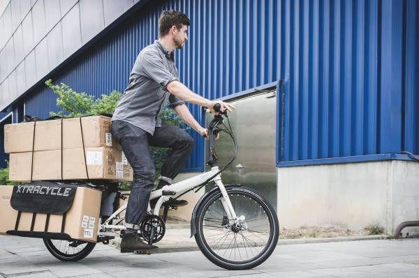 Tern Cargo Node Foldelig Cykel 24 Tomme 16V - Sort/Grå