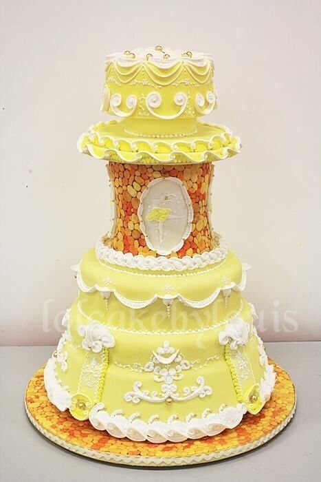 Princess Ballet Wedding Cake