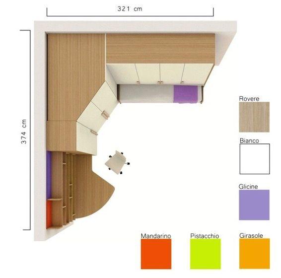 Oltre 25 fantastiche idee su spazio per armadio su - Lo trovi sotto il letto ...
