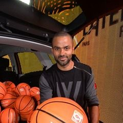 French basketball player Tony Parker attends signing session in Paris (310235)