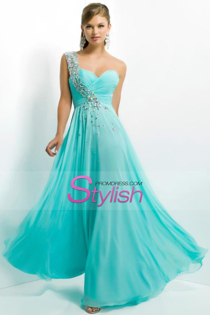 Blue One Shoulder Prom Dresses From Stacey\'s | Dress images