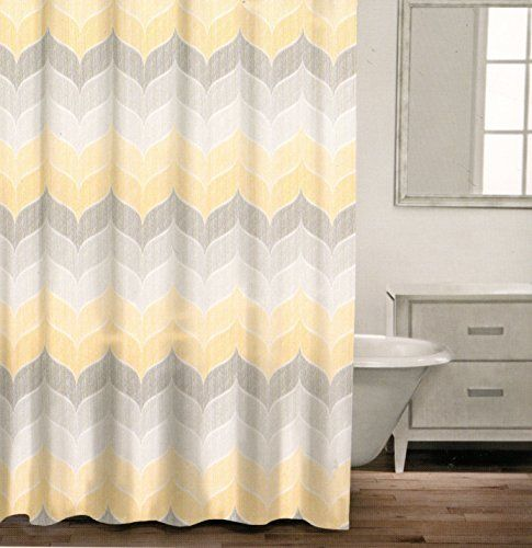 Pin By SweetyPie On Shower Gray Shower Curtains Yellow Shower Curtains Pink Shower Curtains