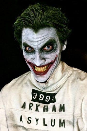 maquillajes de joker disfraz                                                                                                                                                                                 Más