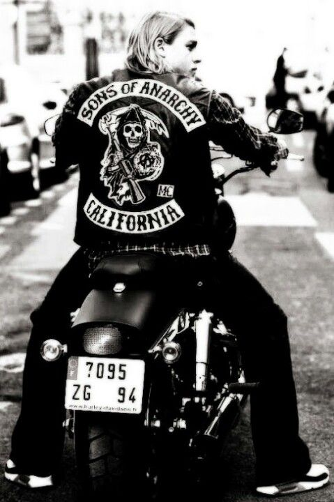 Charlie Hunnam/ Jax Teller from Sons of Anarchy