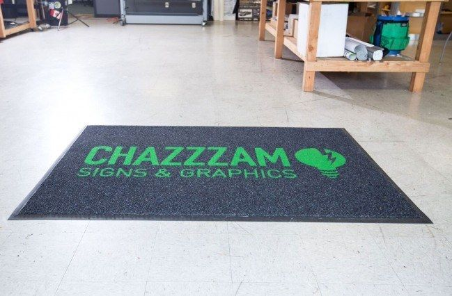 Dura Nop Inlaid Logo Mat, customizable entrance mat made just for businesses in Canada's harshest climates.  http://www.canadamats.ca/dura-nop-inlaid-logo-mats.html