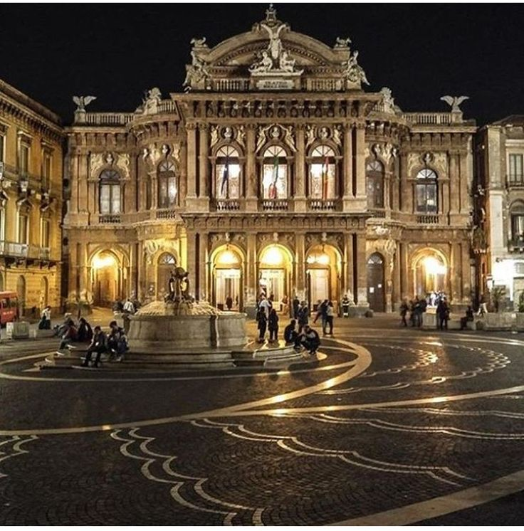 Teatro Massimo Bellini, Catania, Sicília, Itália