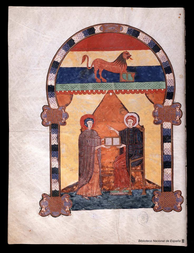 Beato de Liébana. Beato de Liébana , Santo — Manuscrito — 1047 16