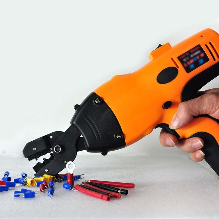 278.00$  Watch here - http://alik4d.worldwells.pw/go.php?t=32709548565 - 6100c cordless terminal crimping tool wire clamp insulation cable electrical tool 0.5 to 6mm2 naked wire terminal crimper