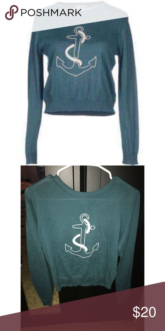Anchor sweater Brand new with tags attached Sweaters Crew & Scoop Necks