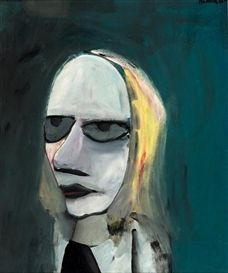 Charles Blackman, Portrait of Barbara