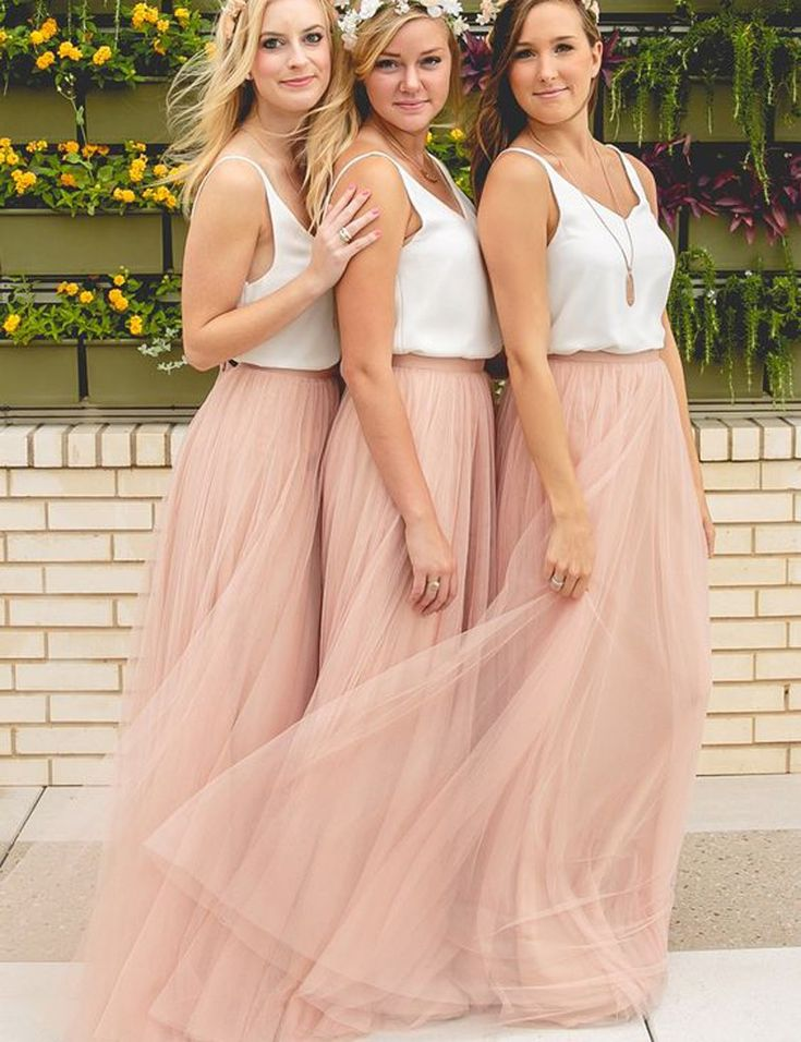 Elegant Bridesmaid Dress ,Pink Bridesmaid Dress ,Dresses for Bridesmaids, Casual Bridesmaid Dresses,bridesmaid dresses