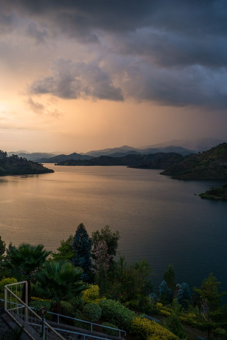 """Lake Kivu: hike or cycle the Congo-Nile Trail, or relax at one of the beach resorts around Karongi or Rubavu."" Rwanda: the Bradt Guide; http://www.bradtguides.com/rwanda-pb-3030.html"