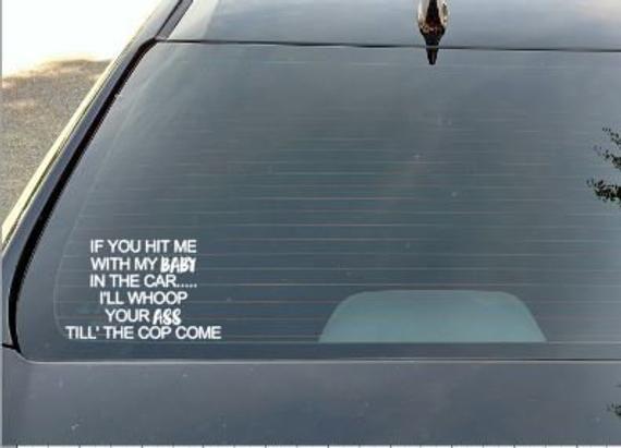 PUT IT IN MY GAS HOLE Vinyl Decal Sticker Car Window Wall Bumper Funny Ass Joke