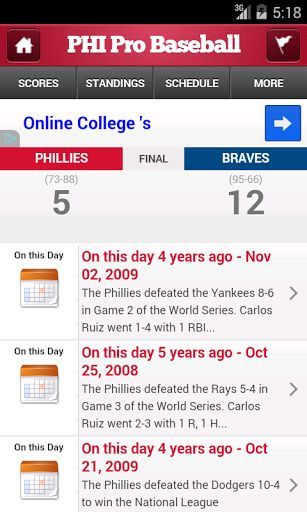 If you are a fan of the Philadelphia Phillies and Major League Baseball, this is the one app you must have. Daily Phanatic by StatSheet gives you previews, recaps, live scoring and analysis based on real-time stats and historical trends.  We leverage our advanced technology and database of over two billion statistics to give you unique insights and proprietary metrics, including team power rankings and individual player rankings and grades.  We even arm you with fact-based smack talk to send…