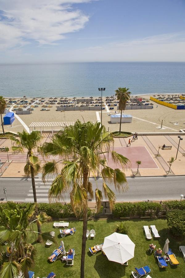 Vistas desde habitación frontal mar - Views from front sea view room.  Hotel Angela. Fuengirola, Costa del Sol. SPAIN