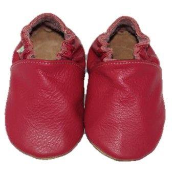 Scarpine in morbida pelle in un bellissimo colore rosso!!! Ideali per i primi passi, per il nido o semplicemente per divertirsi a casa!