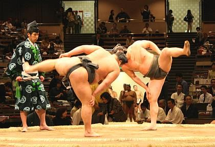 Sumo is a Japanese style of wrestling and Japan's national sport. It originated in ancient times as a performance to entertain the Shinto gods. Many rituals with religious background are still followed today.