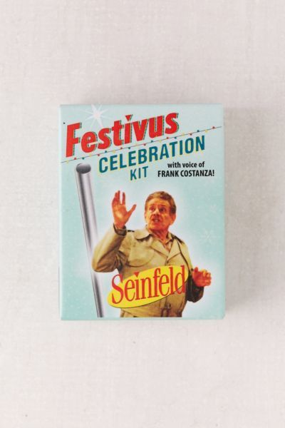 Shop Seinfeld Festivus Celebration Kit at Urban Outfitters today. We carry all the latest styles, colors and brands for you to choose from right here.
