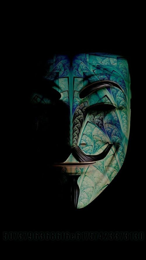 Badass Wallpapers For Android 38 0f 40 Custom Anonymous Mask