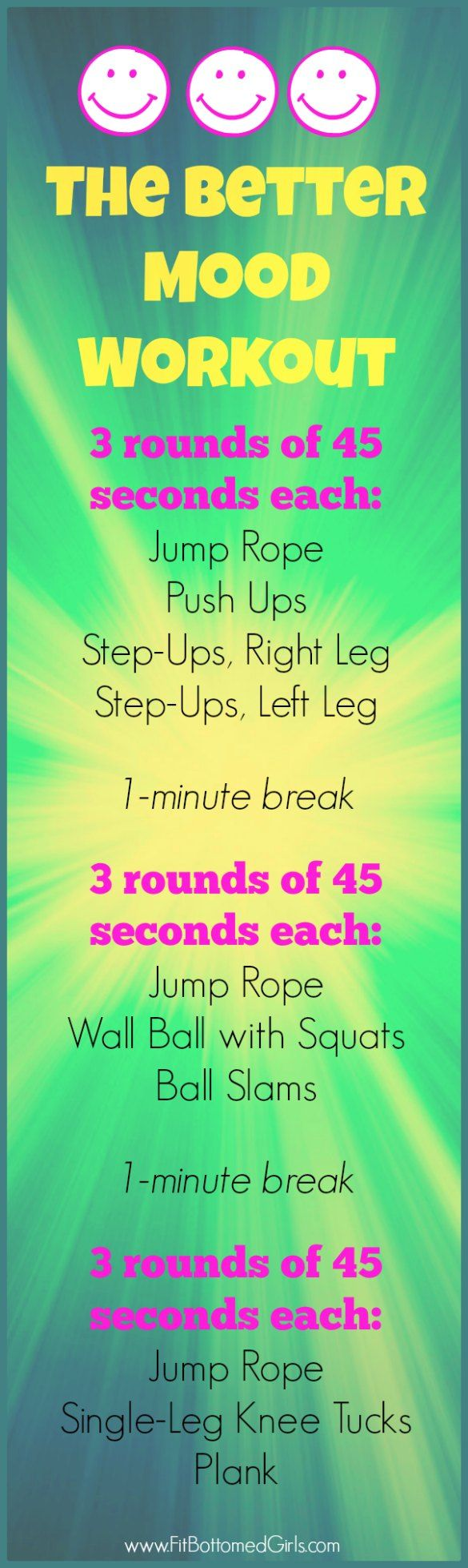 This workout saved Tish from a terrible, horrible, no-good, very bad day, hence why it's called the Better Mood Workout!