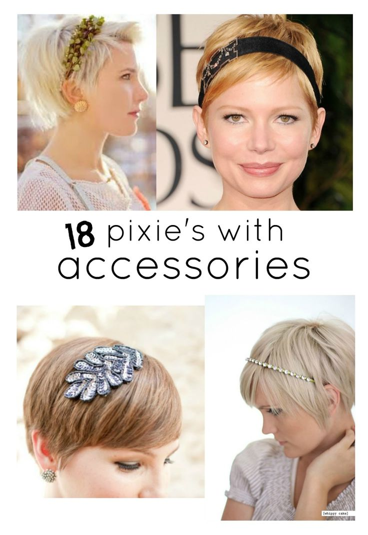 Perfect PIXIE Haircuts Part 3: 18 Pixie's with Accessories {A BEAUTIFUL LITTLE LIFE}