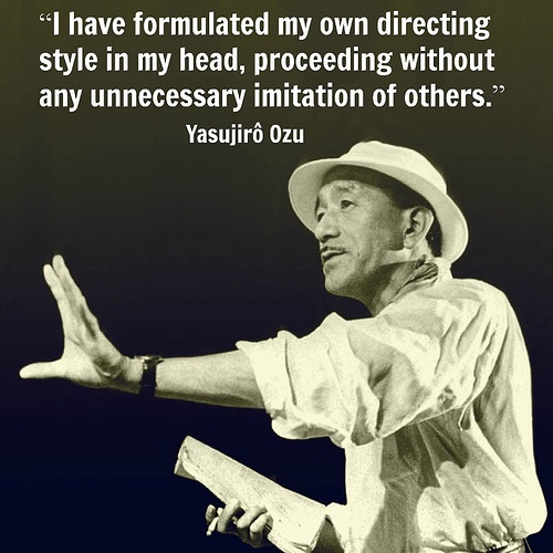 Yasujiro Ozu - Film Director Quote - Movie Director Quote #yasujiroozu #ozu