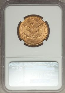 Liberty Eagles, 1881 $10 MS64 NGC....
