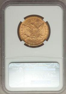 Liberty Eagles, 1881 $10 MS64 NGC....
