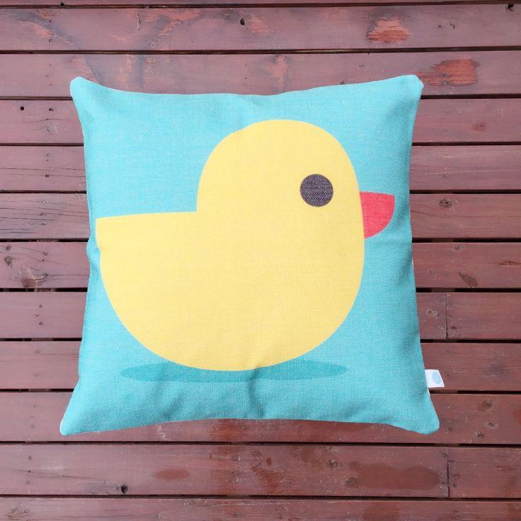 Little duckling says, Happy Thursday!   Check out our store for more creative home deco www.etsy.com/shop/BluStore  #cushion #design #australia #melbourne #sydney #perth #brisbane #queensland #creative #pillow #lifestyle #etsy #modern #homeware #homedeco #gift #duck #blue #cute #nursery #children #kids #thursday #etsyworld