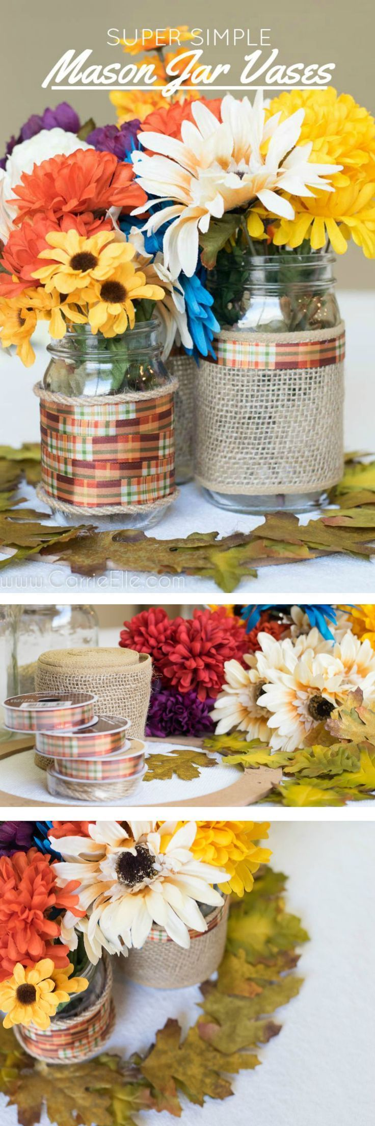 This easy DIY centerpiece is perfect for