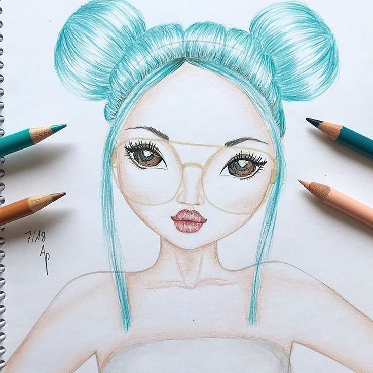 Vielen Dank Anna  für diese wunderschöne TOPModel-Zeichnung – weiter so! ?  #Werbung #annas_artwork #topmodelstyles…