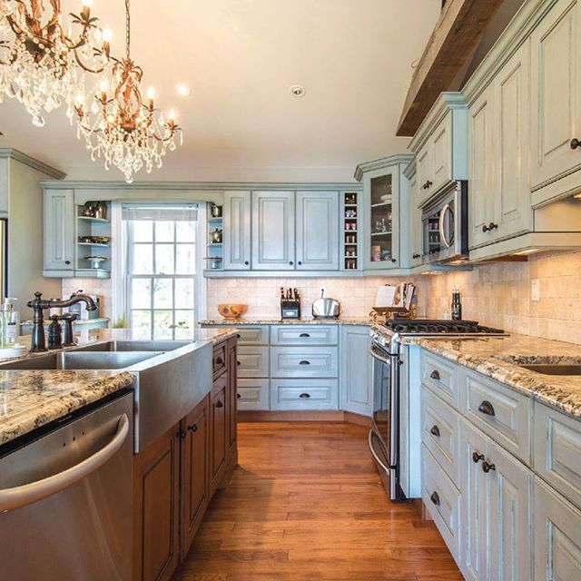 67 best images about custom colors chalk paint on for Grey and duck egg blue kitchen
