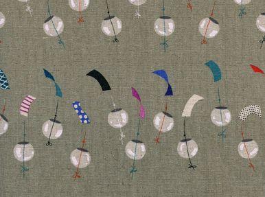 Cotton and Steel Rashida Coleman-Hale Zephyr Chimes Canvas Linen