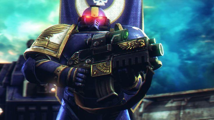Warhammer+40000+:+Space+Marine+by+AngryRabbitGmoD.deviantart.com+on+@DeviantArt