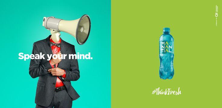 #ThinkFresh - Manantial on Behance