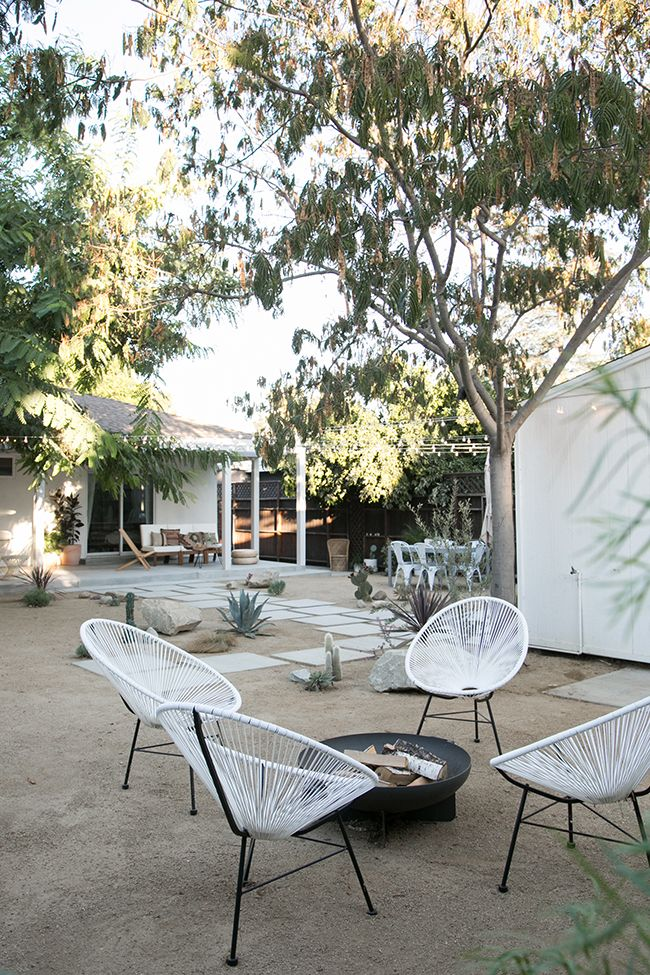 Awesome backyard. Probably couldn't do those random cacti with a toddler running around, but I can dream.