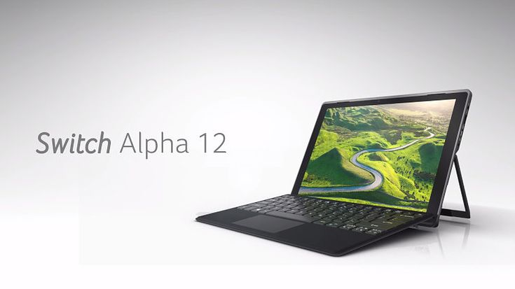なんとSkylake Core 「i」でファンレス、599ドルから。AcerがSurface対抗WinタブSwitch Alpha 12を発表 - Engadget Japanese