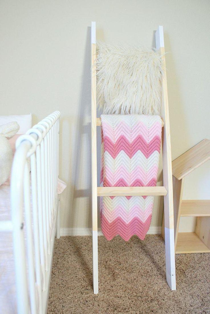 Matching Kids Bedroom Set Childrens Blanket Ladder