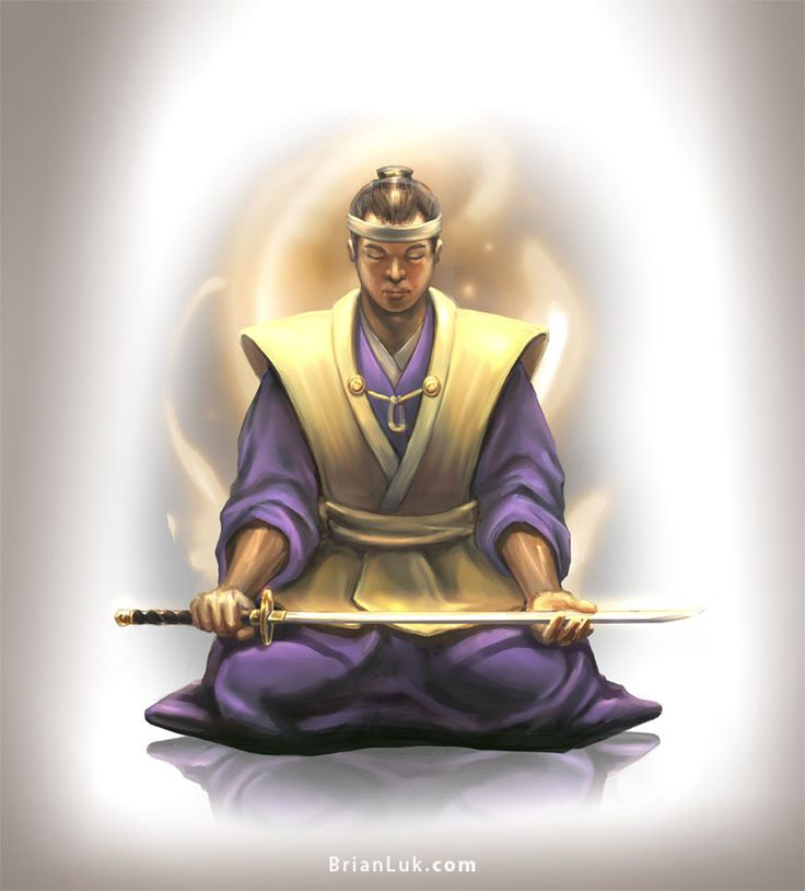 ArtStation - Samurai, brian luk