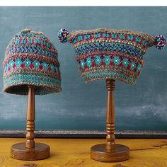 Ravelry: padrão de chapéu livre fairisle