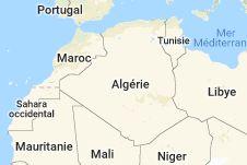 Algérie: carte