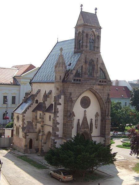 Slovakia, Košice - Chapel of St. Michael