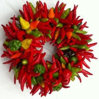 chile wreath
