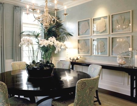 Framed Sea Fans. (Tutorial shows how to paint them.) Something I've been meaning to do for a long time.