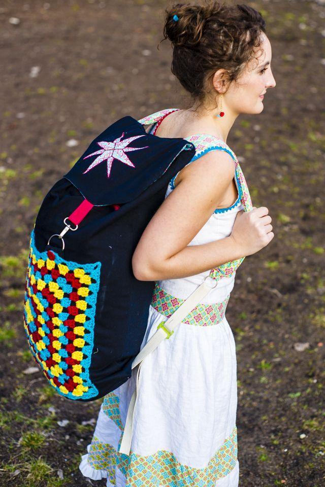 25 parasta ideaa pinterestiss rucksack n hen backpacker rucksack schnittmuster turnbeutel. Black Bedroom Furniture Sets. Home Design Ideas