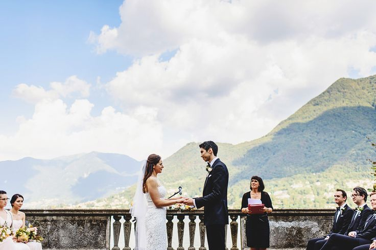 Villa Pizzo Wedding  Lake Como