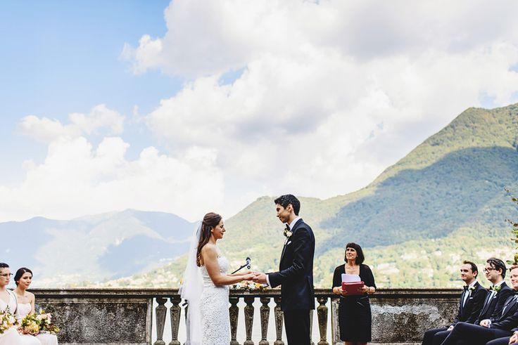 Villa Pizzo Wedding  Lake Como